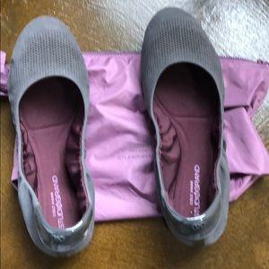 Cole Haan Zero Grand Ballet Flats size 9.5 Gray